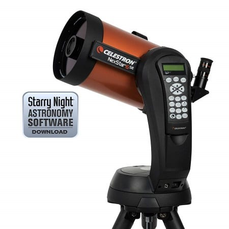 best telescopes for beginners celestron
