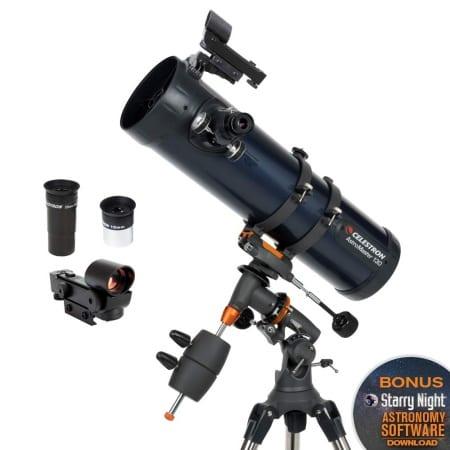 best telescopes for beginners celestron