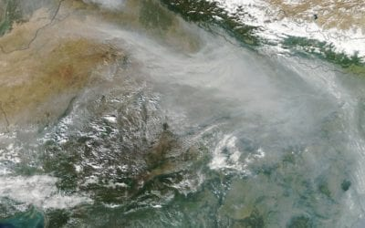 New Dehli Smog: Nature's New Gas Chamber