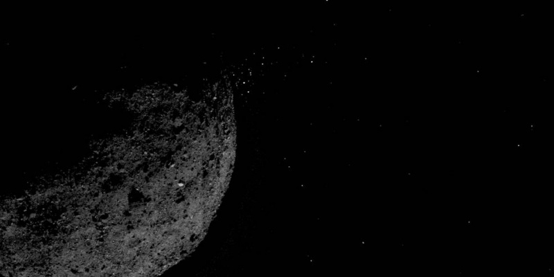 asteroid bennu particle rejection osiris-rex mission