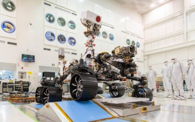 NASA's Mars 2020 Rover Got Its Driver's License